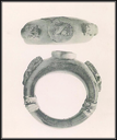 Bracelet en jais à l'effigie de l'empereur romain Caracalla